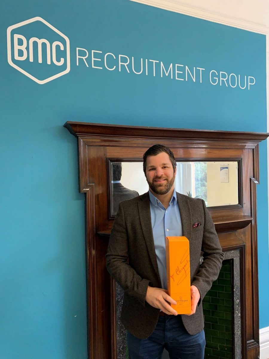 BMC Recruitment Employee of the Month - January